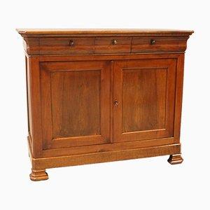 Antique Louis Philippe Walnut Sideboard