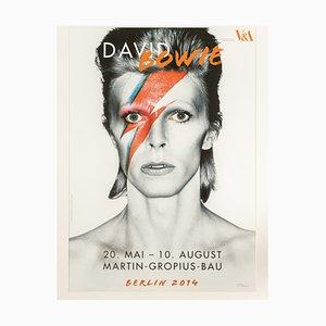 Póster de la exposición David Bowie, Berlín 2014