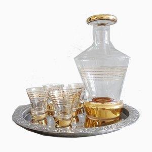 Mid-Century Liqueur Set, 1950s, Set of 7