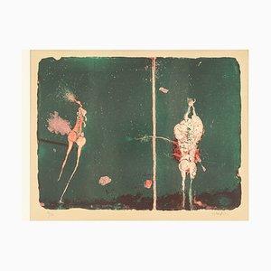 Paul Wunderlich, Original Lithographie