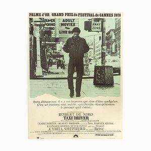 Affiche du Chauffeur de Taxi Robert De Niro, 1970s