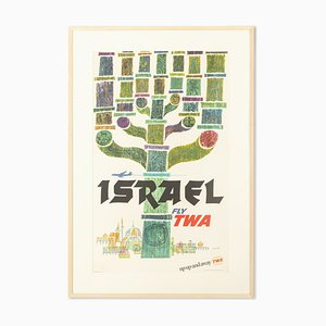 Israel Fly Two von David Klein, 1960er