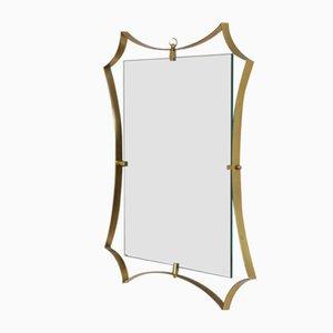 Spiegel mit Messingrahmen von Fontana Arte