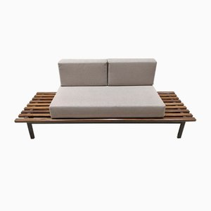 Bench with Mattresses and Cushions by Charlotte Perriand for Steph Simon