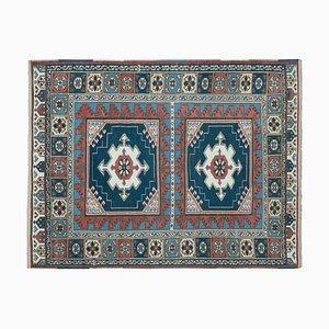 Vintage Turkish Blue Rug