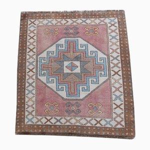 Vintage Turkish Yastik Rug