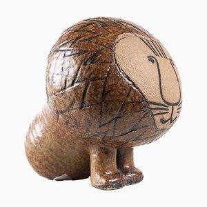 Stoneware Africa Series Midi Lion by Lisa Larson for Gustavsberg, 1964