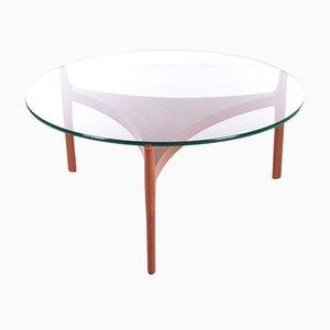 Table Basse en Teck par Sven Ellekaer pour Christiaan Linneberg, Danemark, 1960s