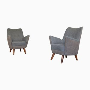 Ship Armchairs, 1950s, Set of 2
