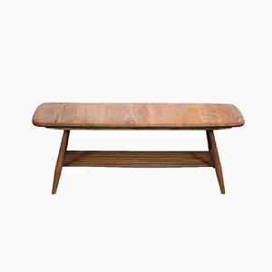 Oak & Beech Coffee Table by Lucian Ercolani for Ercol, 1960s