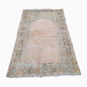 Kleiner türkischer Oushak Teppich