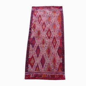 Small Vintage Anatolian Turkish Kilim Rug