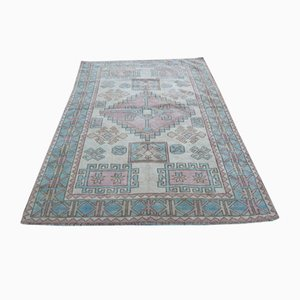 Neutral Colored Oushak Style Area Rug