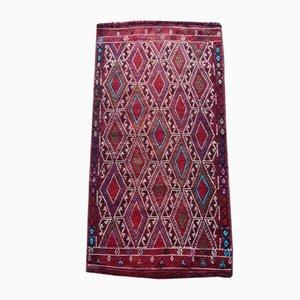 Antiker handgefertigter türkischer Oushak Teppich in Pastellfarben