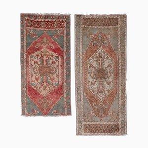 Kleine türkische Vintage Teppiche, 1970er, 2er Set