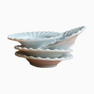 Ceramics Pieces from Lyngby, Set of 4