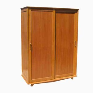 Scandinavian Style Oak Closet, 1950s