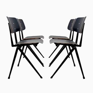 Large Stackable Galvanitas S17 Industrial Dining Chair