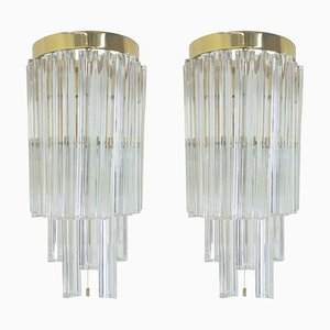 Mid-Century Wall Lamps from Kalmar, 1970s, Set of 2