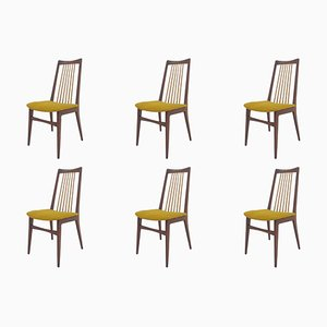 Mid-Century Dining Chairs, Denmark, 1970s, Set of 6