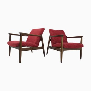 Mid-Century Armchairs by Edmund Homa, 1960s, Set of 2