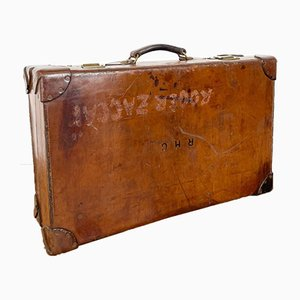 Vintage Leather Suitcase from F. Lansdowne's London