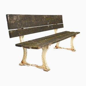 Convertible Bench in Cast Iron and Wood