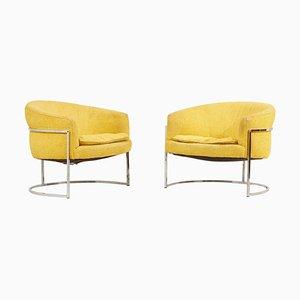 Lounge Chairs by Milo Baughman, USA, 1960s, Set of 2