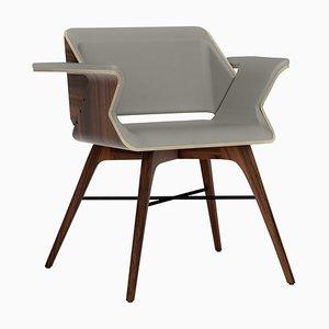 Ash and Walnut Chair by Alexandre Caldas