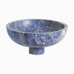 Blue Inside Out Bowl by Karen Chekerdjian