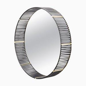 Cesta Round Mirror by Pauline Deltour