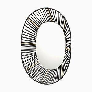 Cesta Oval Mirror by Pauline Deltour