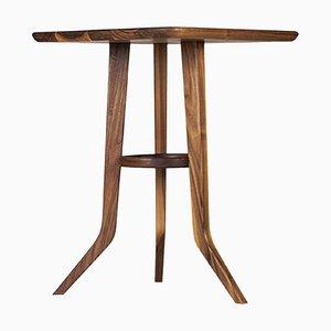 Tripod Walnut Roots Table by Alexandre Caldas