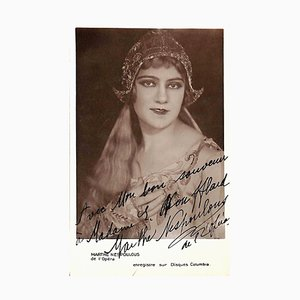 Unbekannt, Marthe Nespoulous, Autogramm, Mitte des 20. Jh