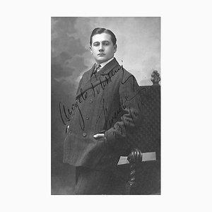 Unknown, Angelo Polisseni, Autographed Photograph, 1900