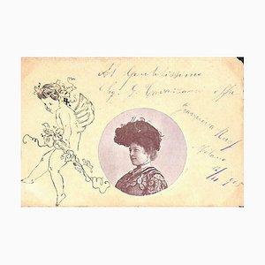Unbekannt, Giannina Russ, Autogramm, Frühes 20. Jh