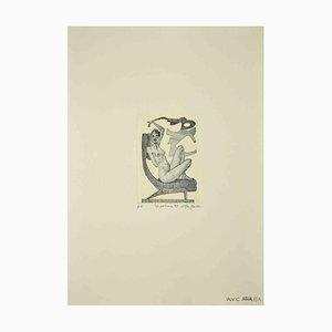 Leo Guida, The Armchair, Original Etching, 1989