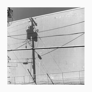 Shadow Lines, Wildwood, New Jersey, American Black and White Photograph, 2013-2021