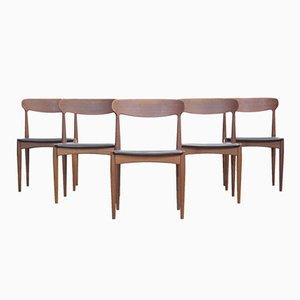 Dänische Esszimmerstühle von Johannes Andersen für Uldum, 1960er, 5er Set