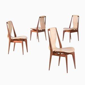 Stühle von Apelli und Varesio, 1955, 4er Set
