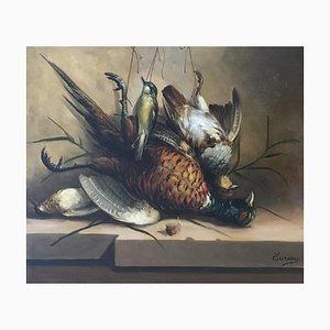 Sureau, Nature morte gibier à plumes, 1902