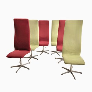 Oxford Chairs of Arne Jacobsen, Set of 6