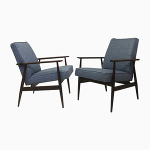 Vintage 300190 Armchairs by H. Lis, 1970s, Set of 2
