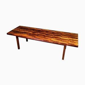 Mid-Century Danish Rosewood Coffee Table from Bramin