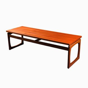 Long Teak Quadrille Coffee Table from G-Plan, 1960s