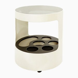 Italian Side Table or Serving Trolley