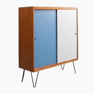 Teak Sideboard mit Hairpin Legs, 1960er