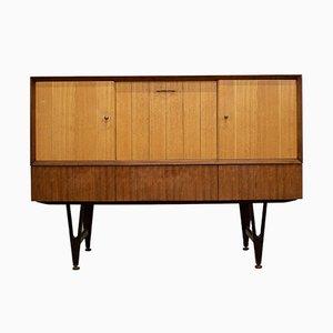 Walnuss & Eichenholz Barschrank oder Sideboard von Beautility, 1960er
