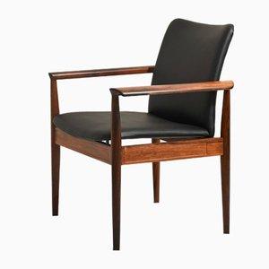 Chaise de Bureau Diplomat 209 par Finn Juhl pour France & Son
