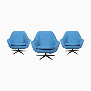 Shell Chairs, Germany, 1960s, Set of 3